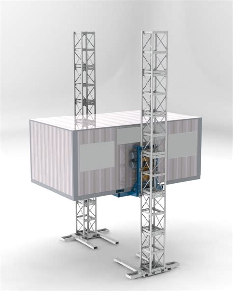 special rack and pinion vertical transportation