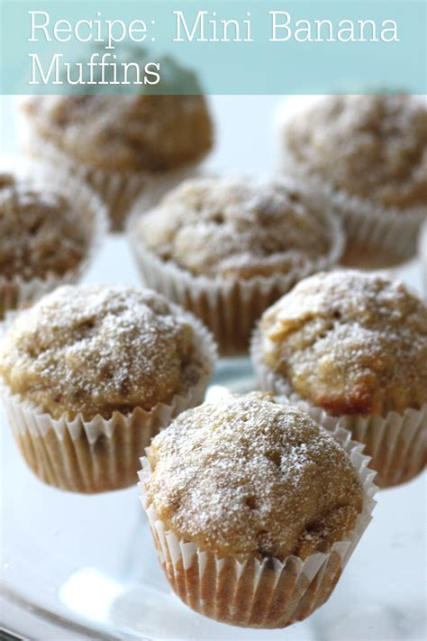 recipe mini banana muffins catch