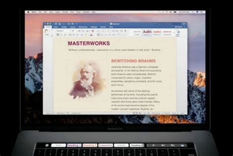 Microsoft Word Untuk Macbook by Microsoft Office Bisa Support Touch Bar Macbook Macpoin