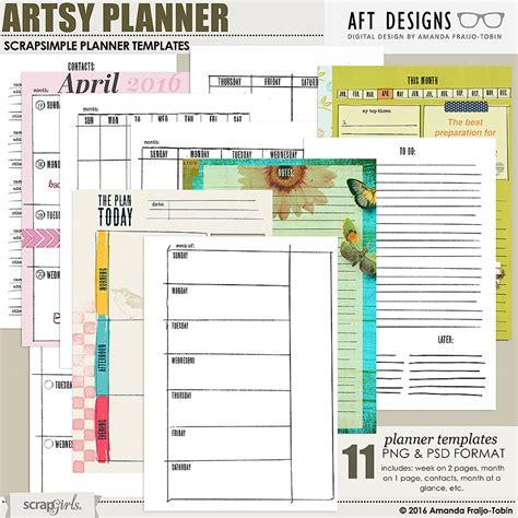 digital calendar template digital and hybrid calendar and planner templates by