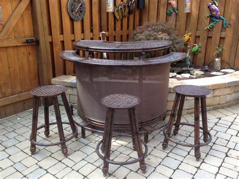 patio outdoor bar furniture all home decorations enjoy