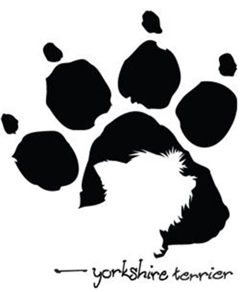 yorkie silhouette 76 best yorkie silhouette images on yorkie terriers and