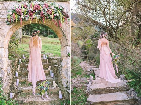 Bohemian Wedding Concept by Crochelle Quot Pink And Copper Boho Styled Shoot Quot On Quot 4