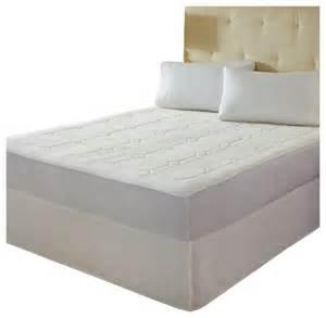 rest premier quilted memory foam mattress pad