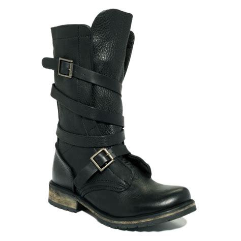 steve madden boots steve madden banddit utility boots in black lyst