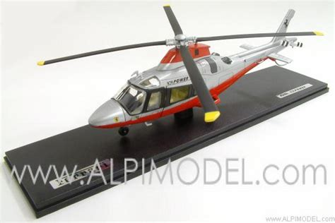 new agusta a109 power elite team helicopter 1 43 scale model