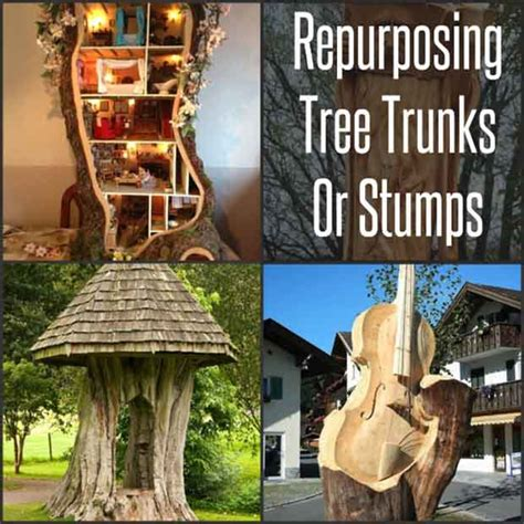 repurposing tree trunks or stumps green eco services 1000 images about things to share with daughters on
