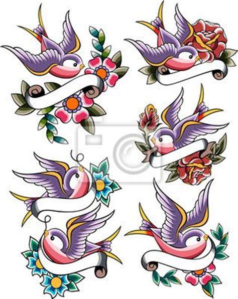 tattoo flash birds wall mural swallow tattoo banner shape pixersize com