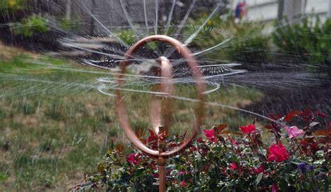 lawn sprinkler oscillating rotary stationary