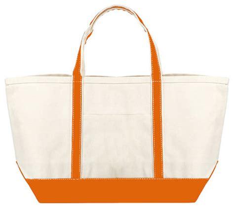 heavy duty canvas boat bags orange heavy duty cotton canvas boat tote large bag