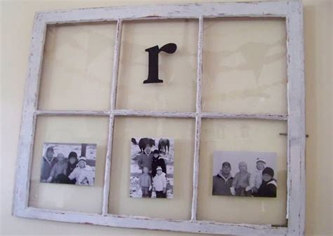 how to turn an old window into a photo frame hymns and turn an old window into a picture frame first apartment