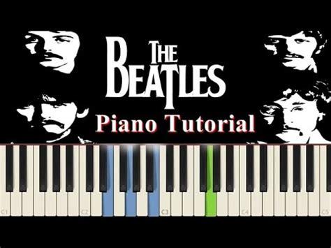 tutorial piano beatles aprender piano canci 243 n f 225 cil 1ra parte hey jude doovi
