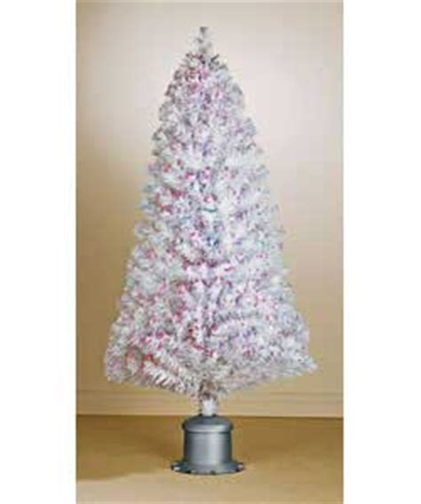 white fibre optic christmas tree white fiber optic tree santa claus and