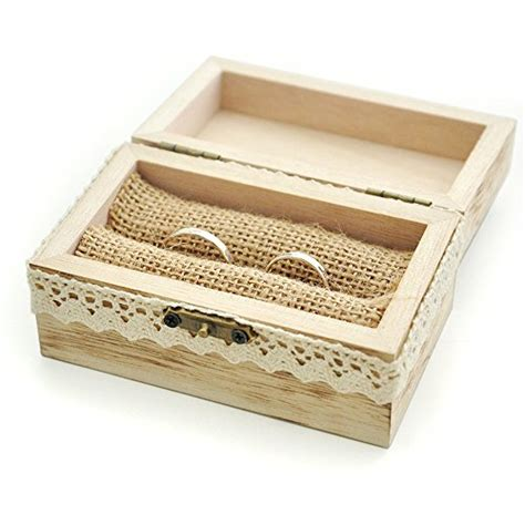 Wedding Ring Box For 2 Rings by Mr And Mrs Ring Box Rustic Wedding Ring Bearer Box Wood