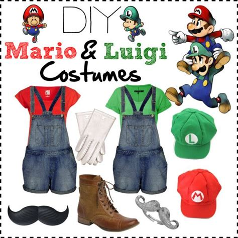 diy luigi costume diy mario and luigi costumes