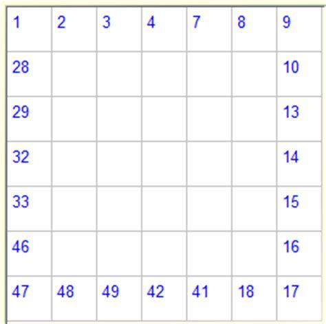 printable numbrix puzzles parade numbrix