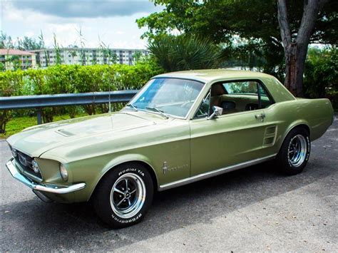 Mustang Automatic S by 1967 Ford Mustang S Code 390 V8 Automatic Used Ford