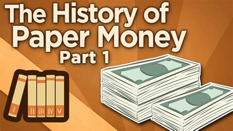 How Do They Make Paper Money - the history of paper money i origins of exchange