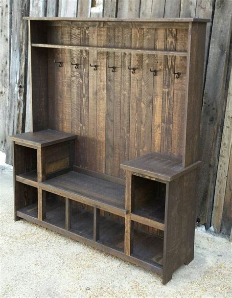how to make a hall tree storage bench 1000 ideas about hall trees on pinterest antique hall