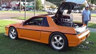 Pontiac Fiero V8 This Blown Big Block V8 Pontiac Fiero Will Your