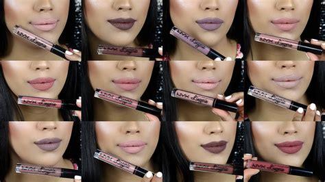 Lipstik Nyx Dan La review kem l 236 nyx liquid lipstick gi 225 cả