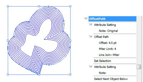 illustrator tutorial offset path multiple offset paths outlines with defined o adobe