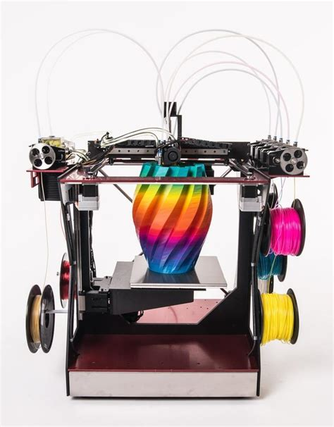 3d color printer rova4d color blender 3d printer reaches kickstarter