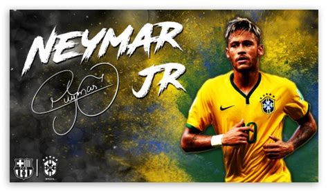 download wallpaper neymar barcelona neymar jr barcelona brazil 4k hd desktop wallpaper for 4k