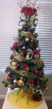 beauty and the beast christmas tree holidays pinterest