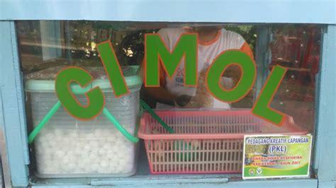 blogger kendal camilan cimol goreng pedas manisnya mantap