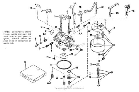 parts diagrams tecumseh ca 630942a parts diagram for carburetor