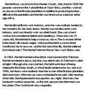 Harriet Essay by Harriet Tubman At Essaypedia