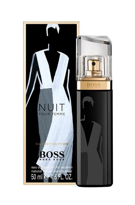 Parfum Hugo Nuit nuit pour femme runway edition hugo perfume a
