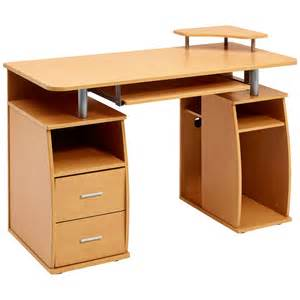 computer desk with shelves cupboard drawers home office