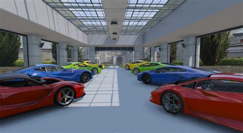 8 Car Garage | gta 5 8 car garage showroom mod gtainside com