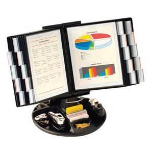 Desk Flip Chart Organizer Binder Holders Desktop