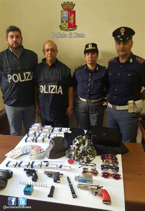 ufficio immigrazione roma telefono rapinatore seriale incastrato dal viagra arrestato
