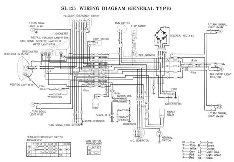 honda h100 wiring diagram honda automotive wiring diagrams