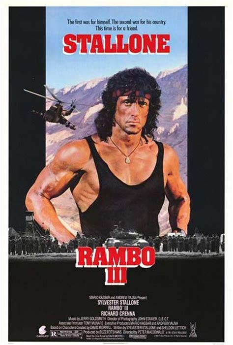 film di rambo 3 poster rambo iii