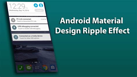 material design reveal effect uandblog