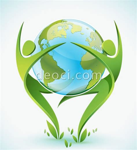 vector design logo free download free download vector green people and earth dance design