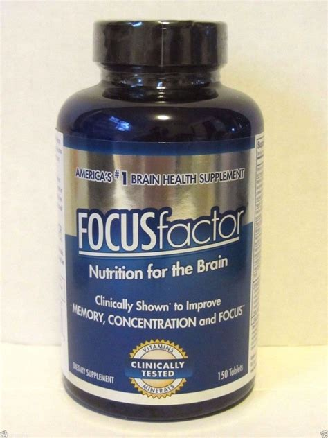 focus x supplement focus factor brain supplement 150 tablets improve memory