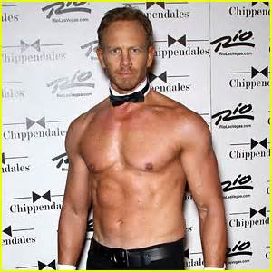ian ziering chippendales ian ziering shirtless chippendales debut