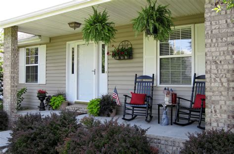 front patio decor ideas small front porch decorating ideas