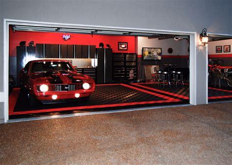 home garage workshop with racedeck garage flooring wall garage gallery racedeck