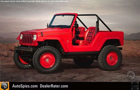 jeep unveils seven new jeep unveils seven concept vehicles for 50th annual easter