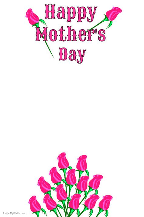 Mothers Day Poster S Day Postermywall