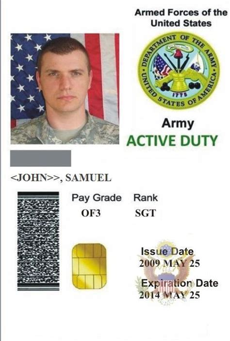 us army id card template id card template 19769 banner war 3 templates