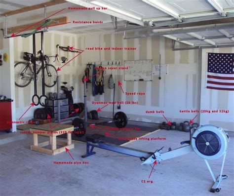 crossfit garage fitness