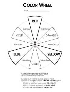 colorwheel worksheet hs